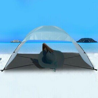 Portable Beach Canopy Single Sun Shade Triangle Patchwork Te