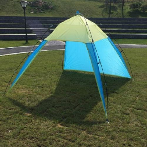 Portable Beach Sun Shade Patchwork Shelter Camping