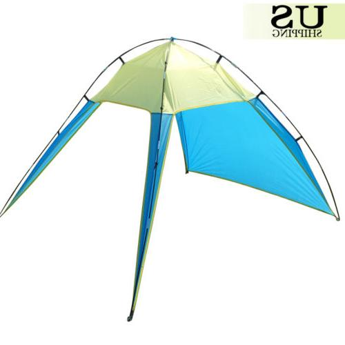 Portable Canopy Shade Triangle Patchwork Shelter Camping