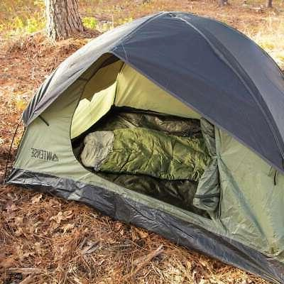 Portable Outdoor Camping Person Waterproof Hiking Dome Tent Camouflage