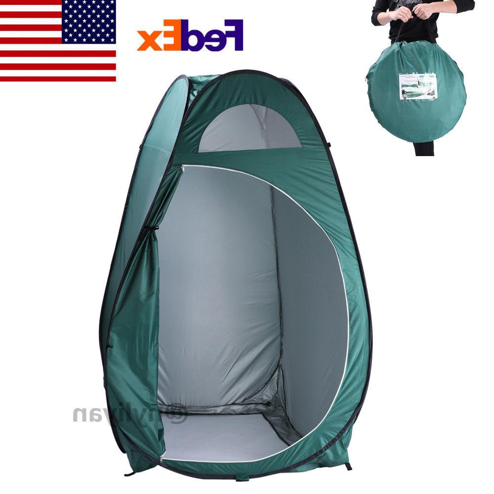 portable outdoor pop up toilet dressing fitting