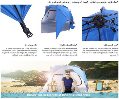 VIVOHOME Portable Shade Shelter Cabana