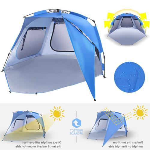 portable outdoor sun shade shelter beach tent