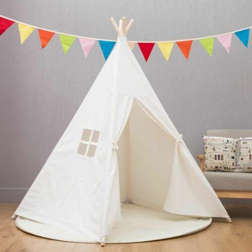 Portable Dream House Indian Teepee Play Tent for Toddlers to