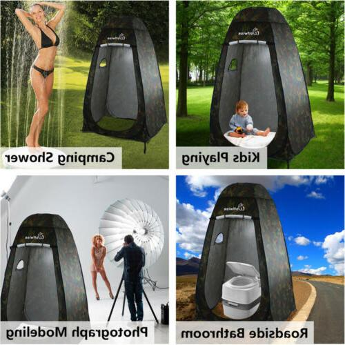 Portable Pop Up Camping Beach Shower Changing Privacy US