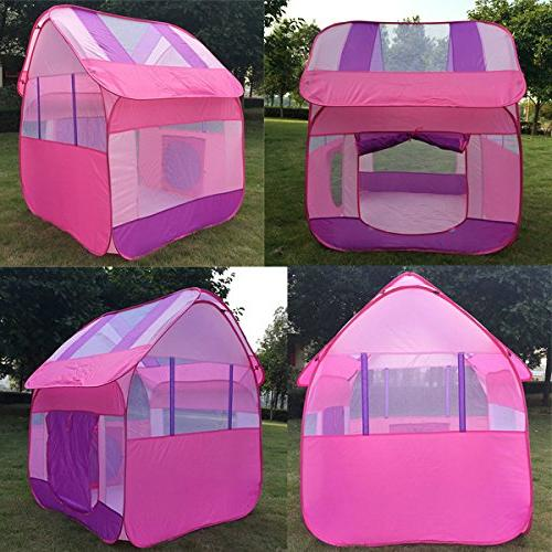 "Aubeco Princess Pink Play Tent 47.2""X"