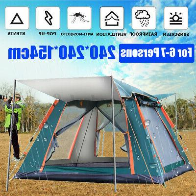 quick open tent outdoor camping field tents