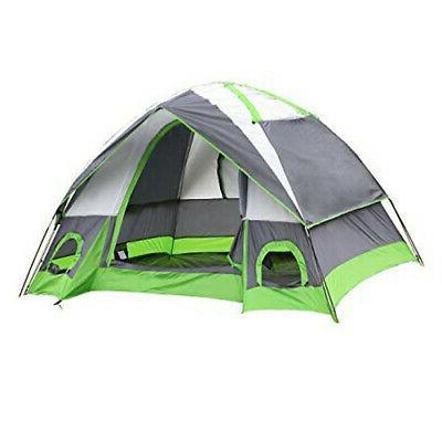 Semoo SMT119502 Water Resistant Tent Grey/Green