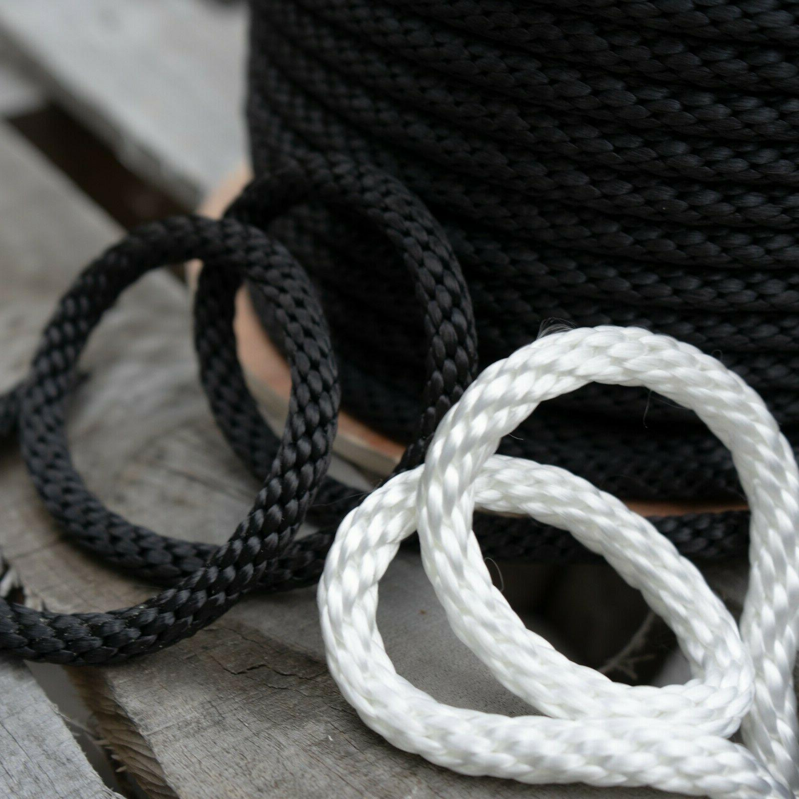 solid braid polyester rope flagpole halyard antenna