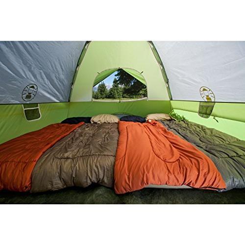 Coleman Tent for Tent Setup