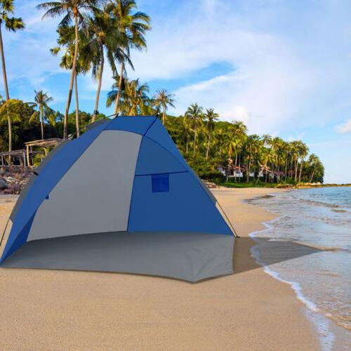 sunshade beach tent portable uv protection outdoor