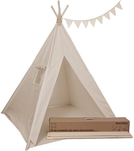 quality design 4f2ac 89c0a Canicove Teepee Tent for Kids - Award Winning