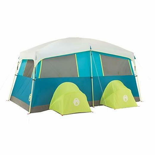 Coleman Tenaya Fast Pitch Cabin Tent with Closet