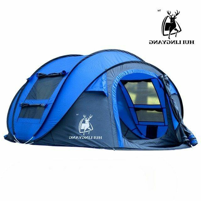 Tent outdoor throwing pop camping hiking, large family
