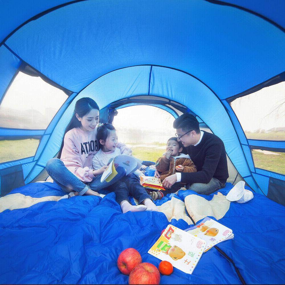 Tent automatic throwing pop camping hiking, large family