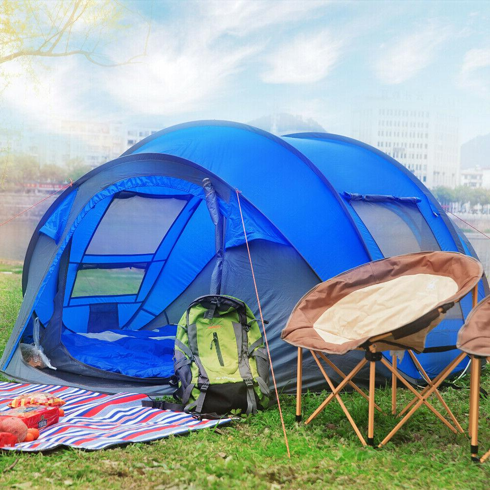 Tent outdoor pop up hiking, large