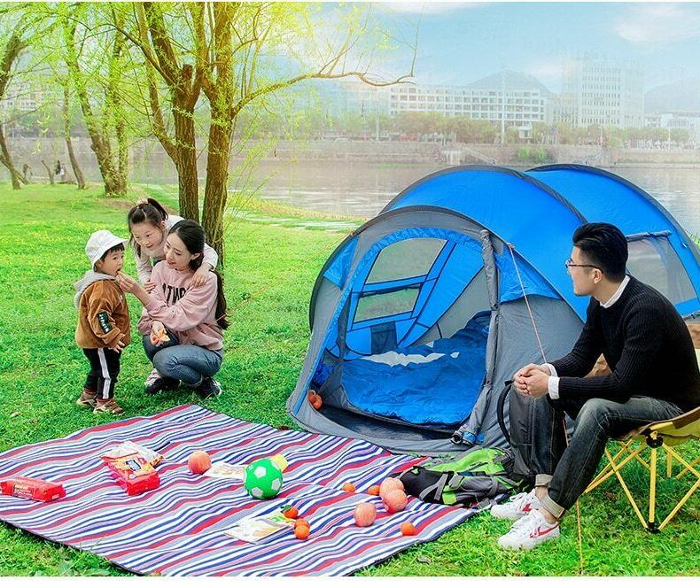 Tent automatic throwing pop camping hiking,