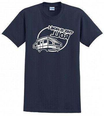 THATS CAMPER UP SCOUT TRAILER MENS TEE T-SHIRT
