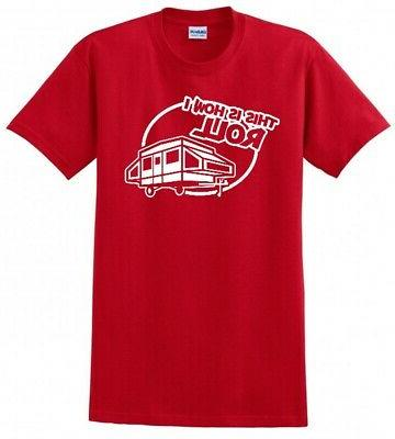 THATS CAMPER POP UP CAMPING SCOUT TENT TRAILER TEE T-SHIRT