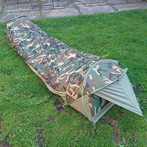 Geertop Compact Single 1 Person I for Camping Military - Fast Easy