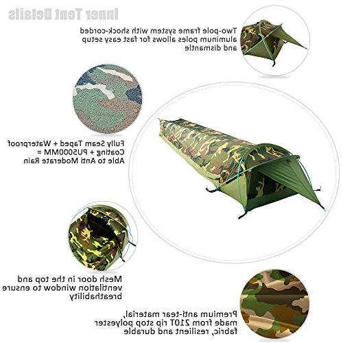 Geertop I Tent for Camping Military Easy Setup