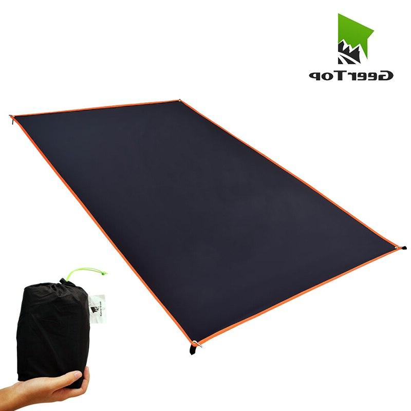 ultralight camping tarp waterproof picnic mat coating