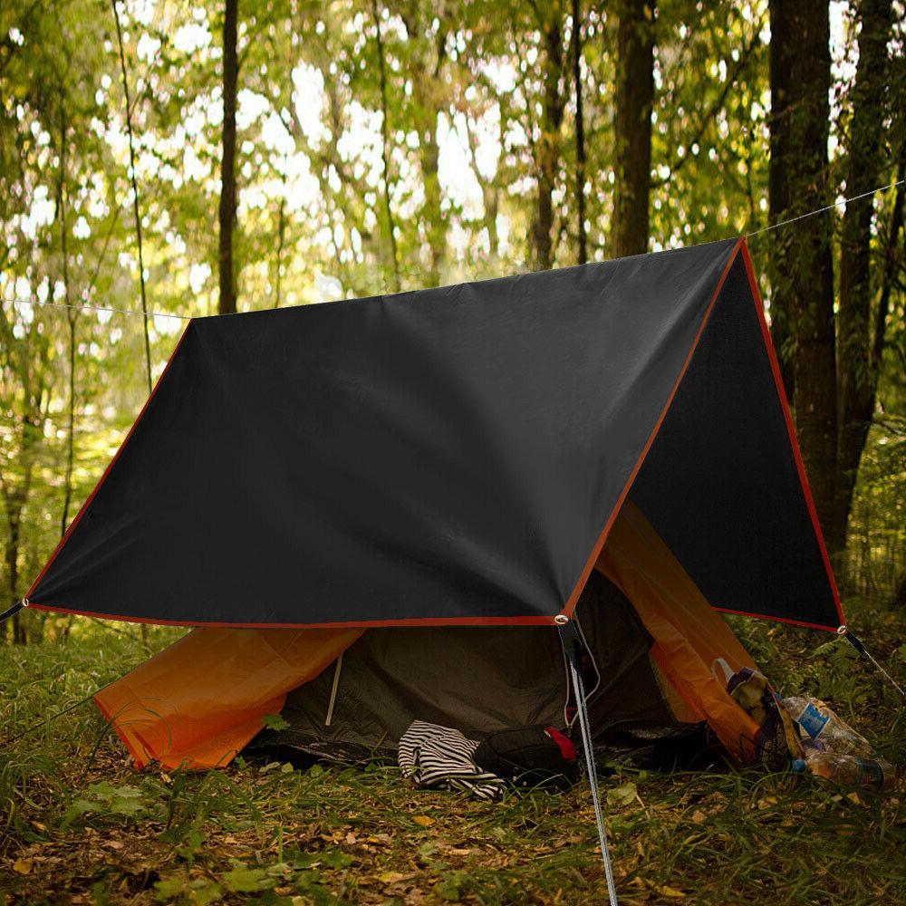 GeerTop Camping Tarp Coating Shelter