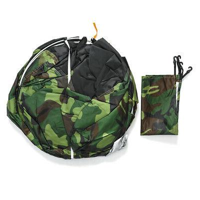 US Camouflage Camping Tent Folding Hiking ψ