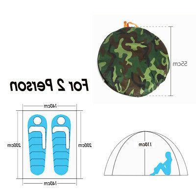 US 2-4 Camouflage Camping Folding Hiking
