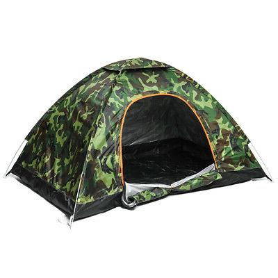 US Outdoor Camouflage Camping Tent Folding