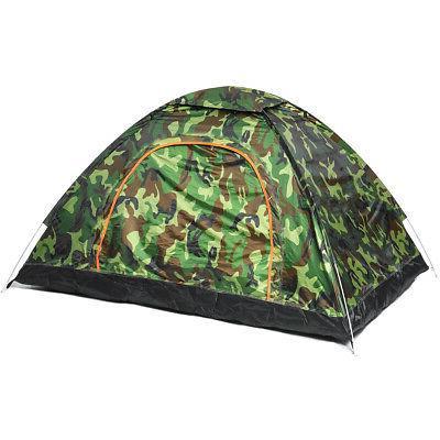 US 2-4 Camouflage Tent Auto Folding