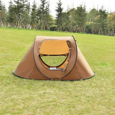 Waterproof 2-3 Person Camping Tent Automatic Quick
