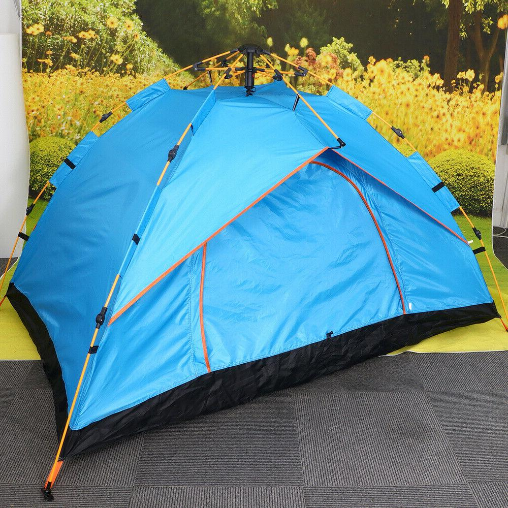 Pop-Up Tent Camping