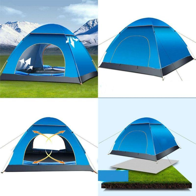Waterproof Camping Tent Automatic Pop Quick Outdoor Hiking