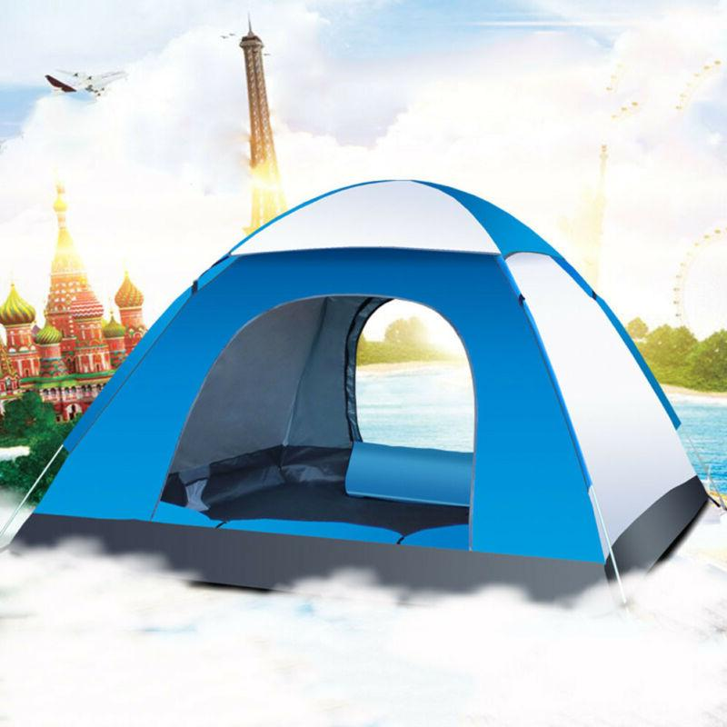 Waterproof 3-4 Tent Quick Shelter Outdoor