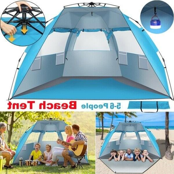 waterproof automatic 5 6 people outdoor instant