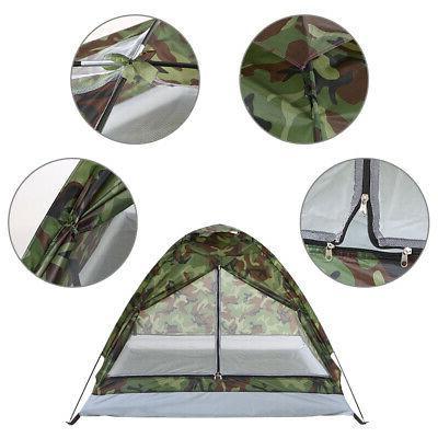 2-3 Waterproof 4 Tent Camouflage