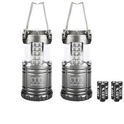 Gold Armour LED Lanterns with Batteries Included - Survival