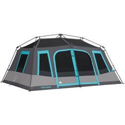 Ozark Trail - Large 10-Person Instant Cabin Tent Dark Rest B