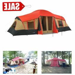 LARGE 3 Room Cabin Tent 10 Person 20'x11' Camping Hunting Ou