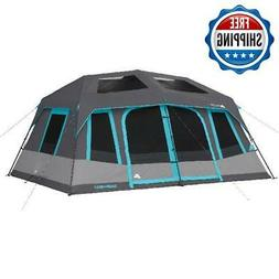 Large Camping 10 Person Tent Instant Cabin Family Hiking Wat