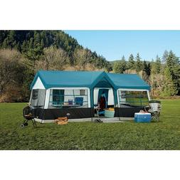 Large Family Camping Tent Cabin 12 person 20' x 12' Outdoor