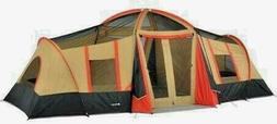 Large Tent Ozark Trail Waterproof 10-Person 3-Room Vacation