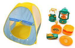 Little Treasures Let's Go Camping by a 6-piece set of camp
