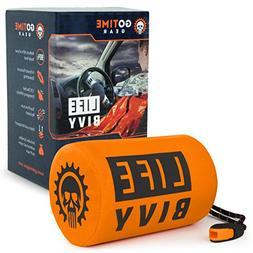 Life Bivy Emergency Sleeping Bag Thermal Bivvy - Use as Wate