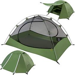 Clostnature Lightweight 2-Person Backpacking Tent - 3 Season