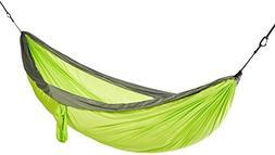 AmazonBasics Lightweight Double Camping Hammock, Lime Green/