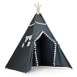 The Little Jo Kids Teepee Tent - Large Indoor Outdoor Teepee