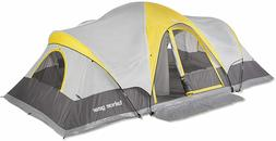 Tahoe Gear Manitoba 14-Person Family Outdoor Camping Tent wi