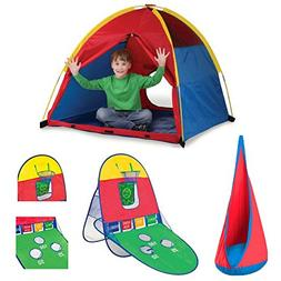 huge discount 5d9d2 7d551 Kids Me Too Play Tent, Playhut 3-in-1 Sports
